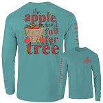 Southernology® Long Sleeve Apple Tree T Shirt