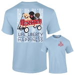 Southernology® Life Liberty and Happy T Shirt