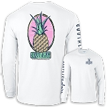 Southernology® Pineapple T-Shirt Long Sleeve