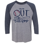 Take Me Out to the Ball Game Raglan