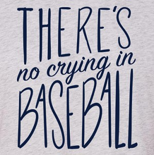 There's No Crying in Baseball Raglan Bundle