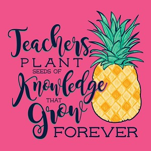 Seeds of Knowledge Pineapple Teacher