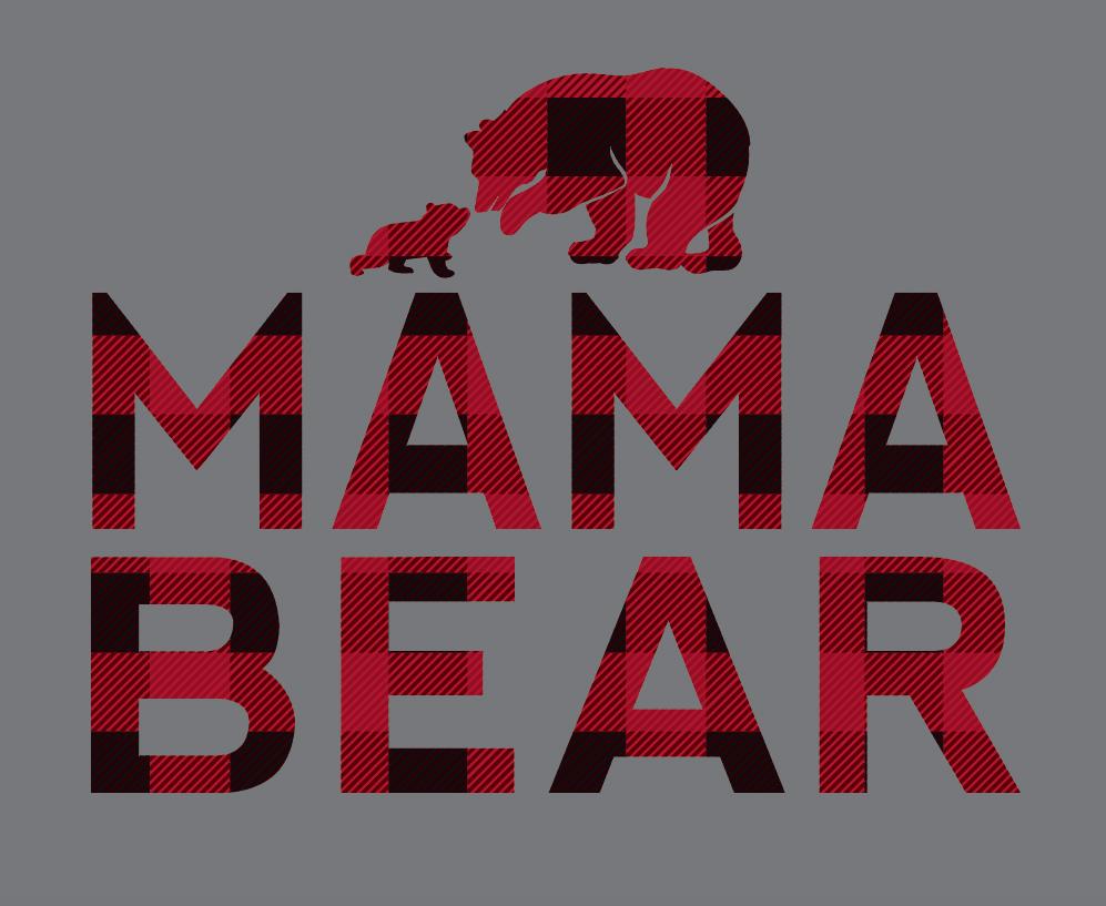 Mama Bear Raglan Tap To Expand