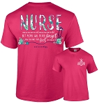 Southernology® Floral Nurse T-Shirt
