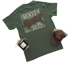 Rugged South™ Military Green Roots Run Deep