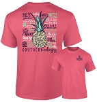 Southernology® Talk Southern to Me Watermelon T Shirt