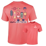 Southernology® Floats Your Boat Coral Buoys T-shirt PREORDER