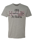 Southernology® Home For Christmas Kentucky Statement Tee