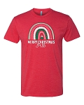 Southernology® Merry Christmas Y'all Rainbow Statement Tee