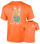 Southernology® Seas the Day Peace T-Shirt PREORDER