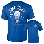 Shine Bright Autism T-Shirt