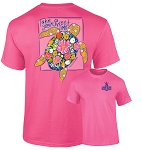 Southernology® Sweet Time Turtle Pink T-shirt PREORDER