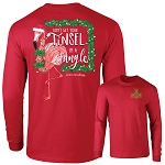 Southernology® Tinsel in a Tangle Long Sleeve T-Shirt