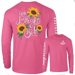 Southernology® Look on the Bright Side Pink Long Sleeve