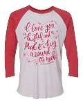 Southernology® I Love You a Bushel and a Peck Raglan