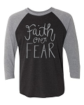 Southernology®Faith Over Fear Raglan