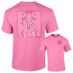 Southernology®Floral Hope Breast Cancer Shirt