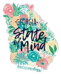 Southernology® Georgia State of Mind Decal