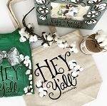 Southernology® Hey Y'all Canvas Tote