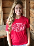 Tailgate Statement Tee RED
