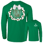 Southernology® Hey Y'all Cotton Wreath Long Sleeve T-Shirt Bundle