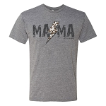 Southernology® Mama Leopard Lightning Statement Tee