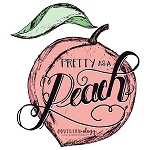 Southernology® Pretty as a Peach Decal