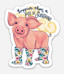 Southernology® Happier than a Pig in Sunshine Decal