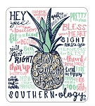 Southernology® Talk Southern White Decal