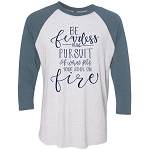 Southernology®Be Fearless Raglan