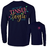 Ashton Brye™ Tinsel Tangle Long Sleeve