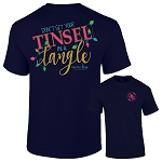Ashton Brye™  Tinsel In A Tangle Short Sleeve T-Shirt