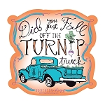 Southernology® Turnip Truck Decal