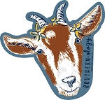 Southernology® Worry the Horns off a Billy Goat Decal