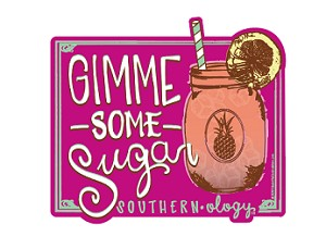 Southernology® Gimme Some Sugar Decal