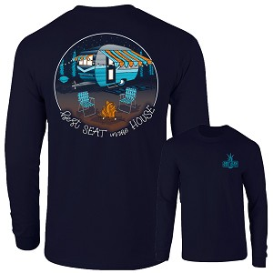 Southernology® Best Seat In the House Long Sleeve T-Shirt