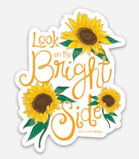 Southernology® Look on the Bright Side Decal