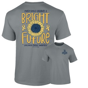 Southernology® Childhood Cancer Bright Future T-Shirt