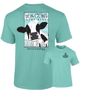 Southernology® Til The Cows Come Home Mint T- Shirt