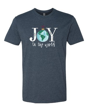 Southernology® JOY to the World Globe Statement Tee
