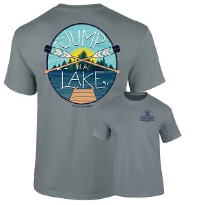 Southernology® Jump in a Lake Paddle T-Shirt