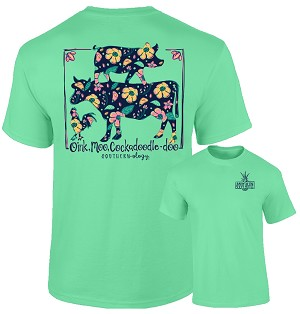 Southernology® Oink, Moo, Cockadoodle-Doo T Shirt