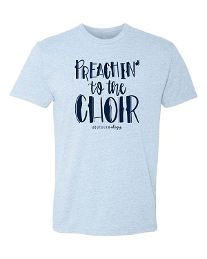 Southernology®Preachin' to the Choir Statement Tee