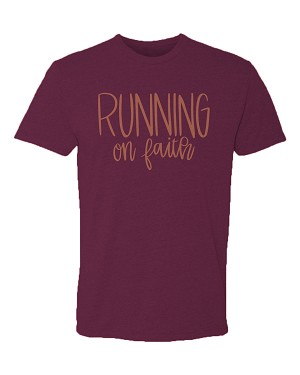 Southernology® Running On Faith Statement Tee