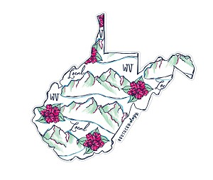 Southernology® West Virginia Local Decal