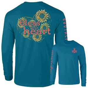 Southernology® Long Sleeve Sunflower Bless Your Heart