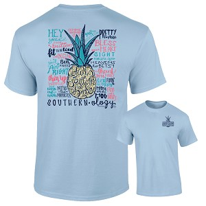 Southernology® Talk Southern to Me Chambray T-Shirt