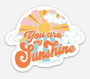 Southernology® You Are My Sunshine Decal